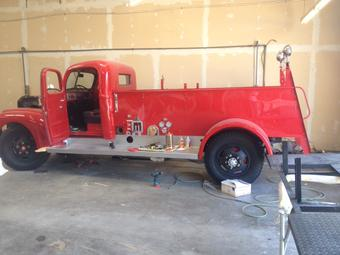 Lindale's Classic Fire truck