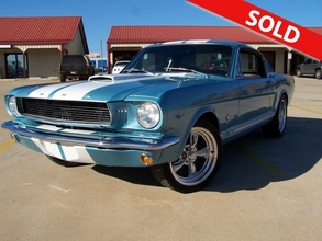 1966 Ford Mustang GT 350 SHELBY TRIBUTE !SOLD!