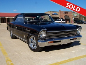 "1967 Chevrolet Nova Nova SS 4 Speed Triple Black ""SOLD"""